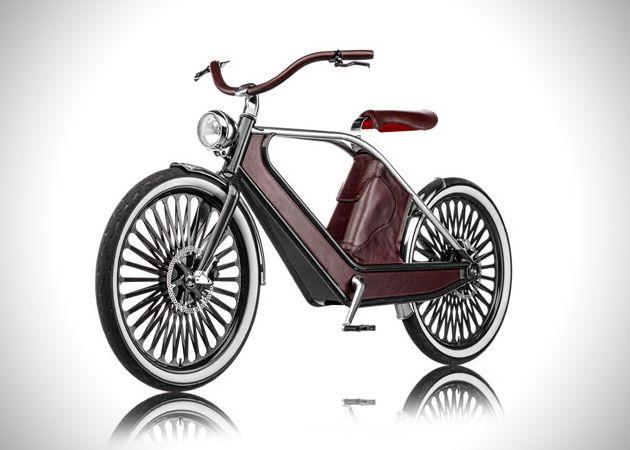 Cykno, le vélo électrique haute couture italien #velo #veloelectrique #luxe Bikee.fr, la seule plateforme dédiée aux vélos électriques d'occasion.