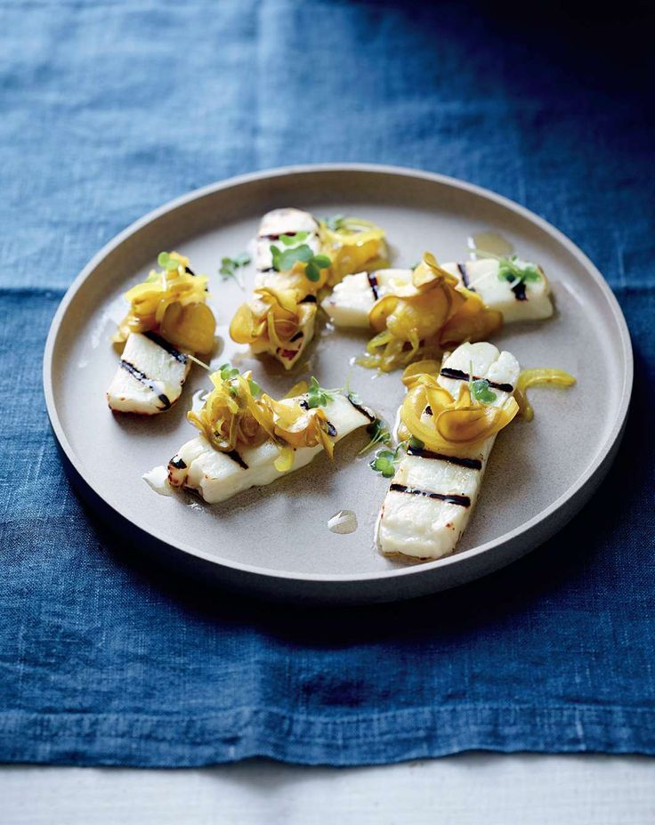Grilled haloumi, zucchini pickles by Philippa Sibley from New Classics | Cooked