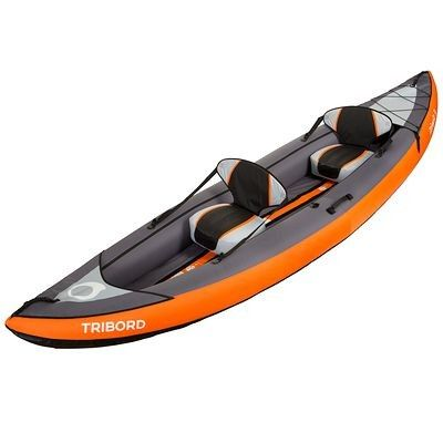 kayak gonflable 2 ou 3 places itiwit 3 orange tribord paddles kayaks and kayak paddle. Black Bedroom Furniture Sets. Home Design Ideas
