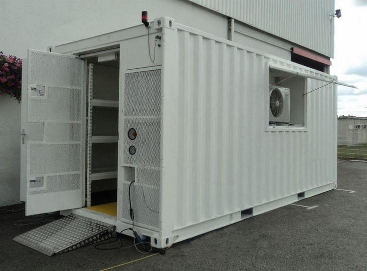 Container oficina funcional e pr tico container garages workshops pinterest garage - Mobile home container ...