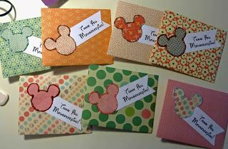 Mousekeeping tip envelopes made by Cool Beans by L.B. We leave a few dollars each day to say thanks for helping our stay be more magical