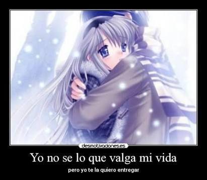 Imágenes+y+Frases+De+Amor+En+Anime