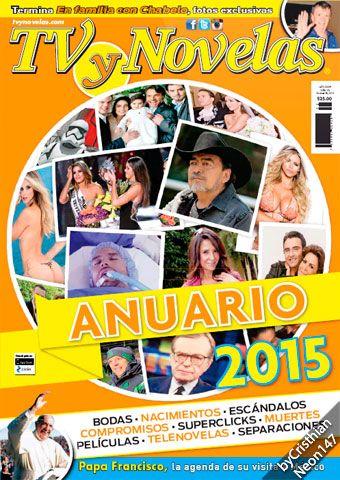 TV y Novelas México - 28 Diciembre 2015 - Anuario 2015