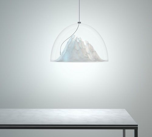 mountain view lamp - dima loginoff