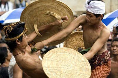 Bali Free Information: Worship the God of War with Perang Pandan Traditio...