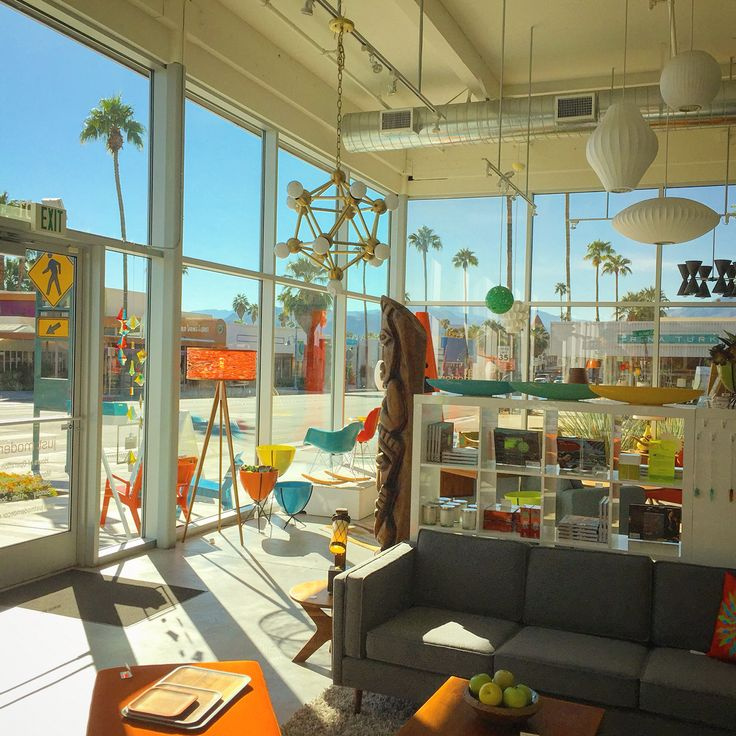Attrayant Loving Our Palm Springsu0027 View From Inside Of Just Modern. #palmsprings