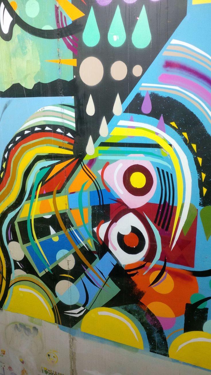Graffiti art work Intercontinental at Rialto Melbourne