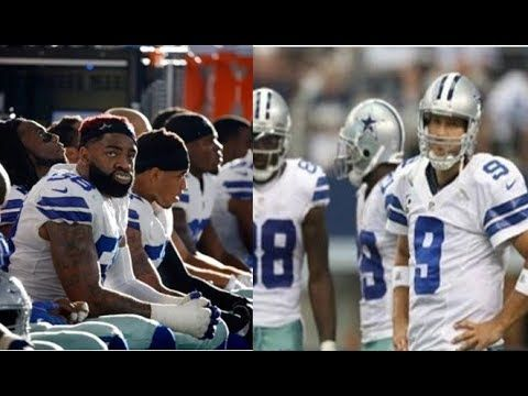 NFL Cowboys Player Raised Black Power Fist To White Players On WRONG Field, Won't Be Playing Footbal - YouTube