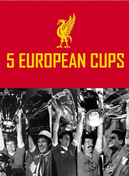 Still the best in the UK. 5 European Cups - @Liverpool FC #LFC