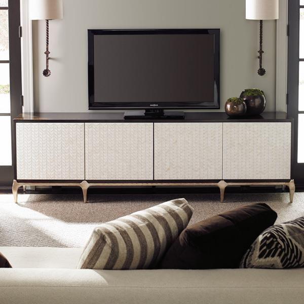 For Your Viewing Pleasure : Classic Contemporary : Closed Storage : con-closto-072 | Caracole Furniture