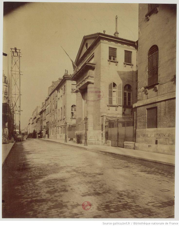 Hôpital Cochin fondé en 1780 - F.b St Jacques 47 : [photographie] / [Atget]