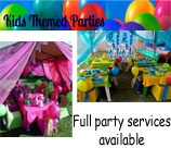 Kids Themed Parties in Cape Town