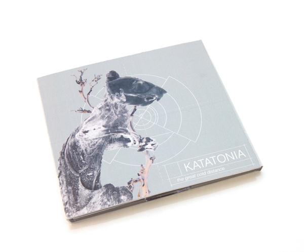 CD cover | Katatonia by Anne Hilde Taraldstad, via Behance