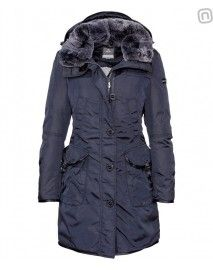 Peuterey Women'S Down Parka Hull Hc Blue #Peuterey ‪#‎FW15‬ ‪#‎lookoftheweek‬ #fashion