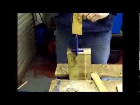 Kindling Wood Splitter - YouTube