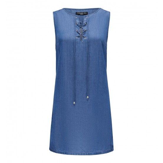Kourtney Lace Up Dress