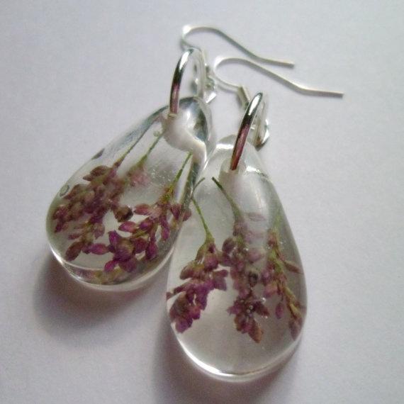 cool resin earrings