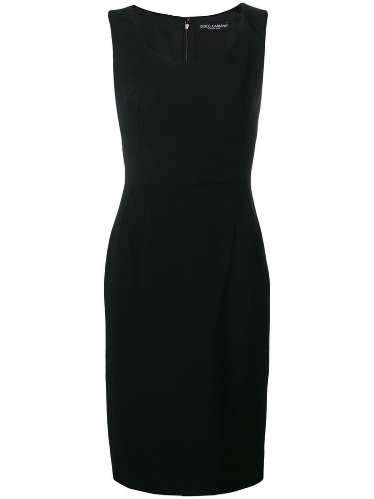 Dolce & Gabbana classic tube dress – Black