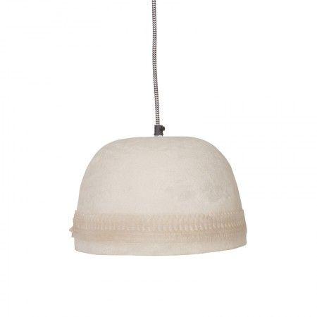 Dawn hanglamp BePure crème wit bewerkt | Musthaves verzendt gratis