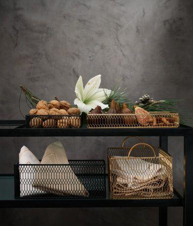 Metal Storage Basket | Black | Home | H&M US