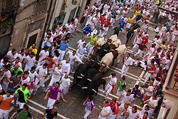 Running of the Bulls - Wikipedia