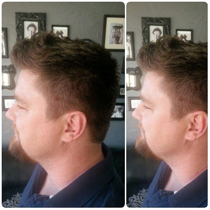 Men's Fade Haircut with Long Texture on Top - http://sarasotabradentonhairsalon.com/mens-fade-haircut-with-long-texture-on-top/