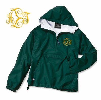 Alpha Sigma Tau Monogrammed Anorak - Greek Clothing and Merchandise - Greek Gear®