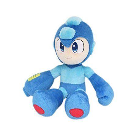 Little Buddy LLC, Mega Man All Star Collection: Mega Man 10 inch Plush, Blue