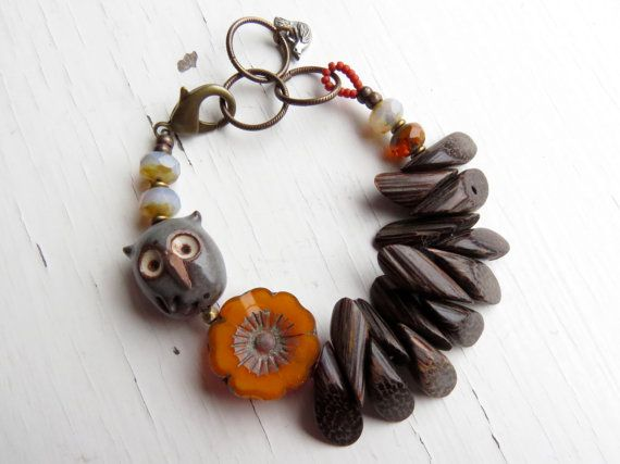 Hey, I found this really awesome Etsy listing at https://www.etsy.com/listing/247439619/at-home-handmade-bracelet-owl-bracelet