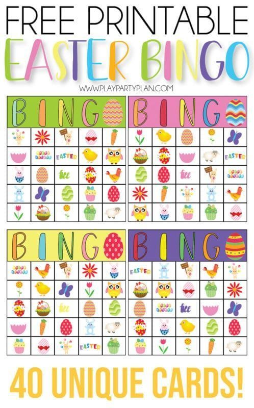 photograph regarding Free Printable Easter Bingo Cards referred to as Cost-free printable Easter bingo sport that performs suitable for