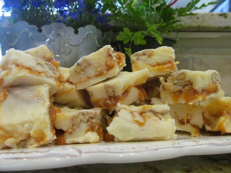 Pralines and cream fudge ~ My Heart with Pleasure Fills
