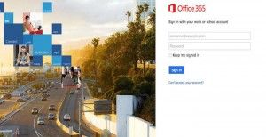 Microsoft Office Email Sign In