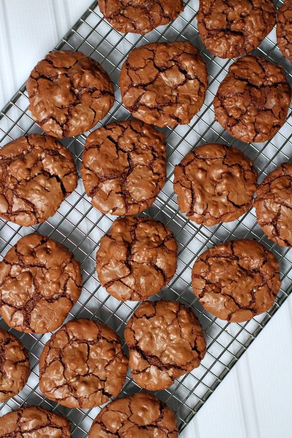Chocolate Toffee Cookies #recipe