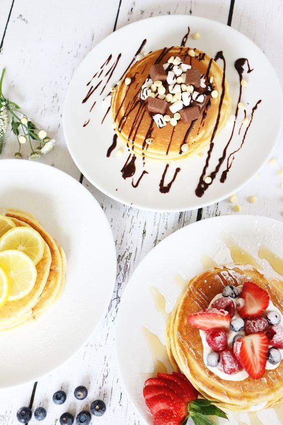Easy Pancakes Via Zoella.co.uk