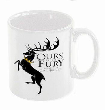 Ours is the Fury / baratheon taza ceramica - game of thrones - 9,95€