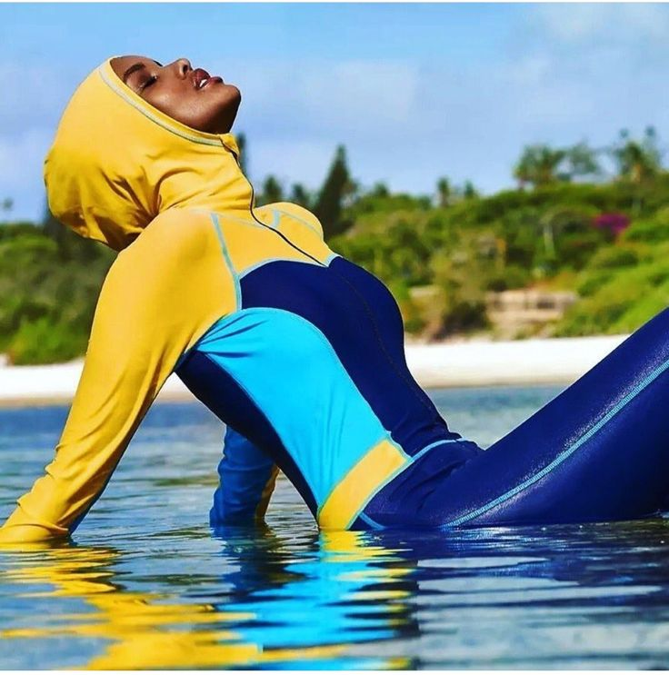 Halima Aden by Yu Tsai for Sports Illustrated Swimsuit