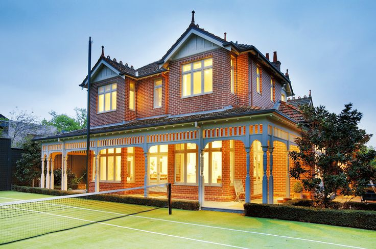 Tennis Court, Family home, renovation  Constructed by Classic Projects