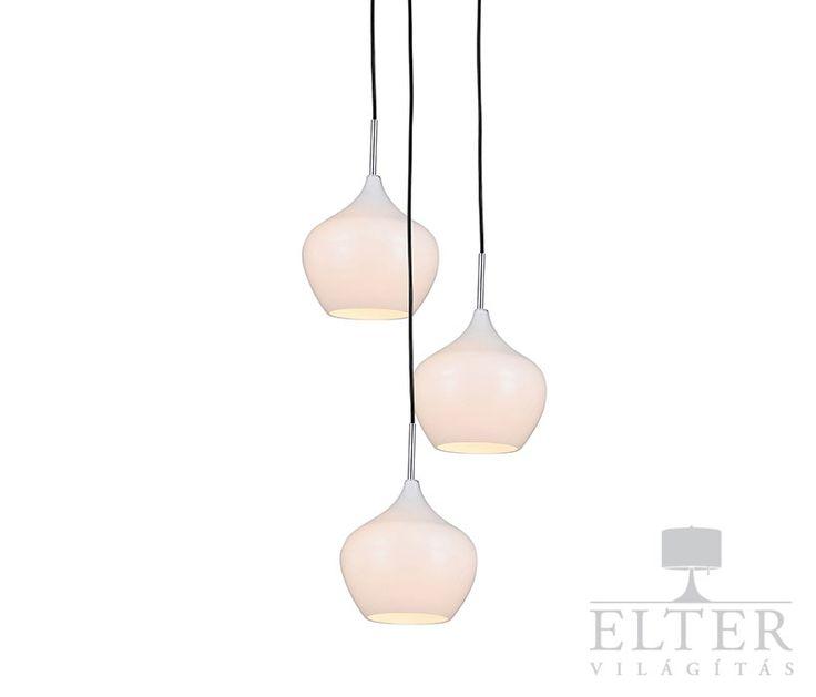 Lámpatípusok - Beltéri világítás - Függeszték - Zuma Spirit 3 izzós függeszték