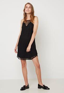 Vero Moda - Sommerkjoler - black