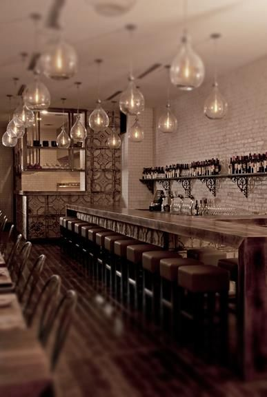 The New Victorian Ruralist: Cafes Bar, Design Inspiration, Pendants Lamps, Victorian Ruralist, Design Ideas, Restaurants Interiors, Ceilings Tile, Restaurants Bar, Abigail Street Restaurants