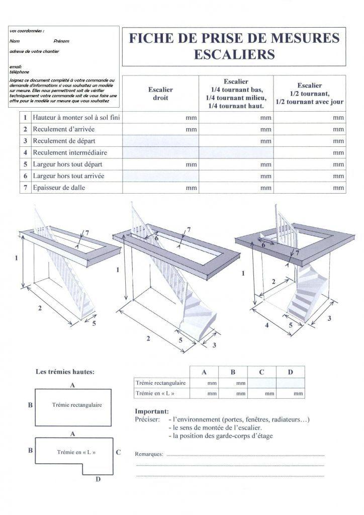 Calcul Escalier Quart Tournant Inspiration De Dcoration