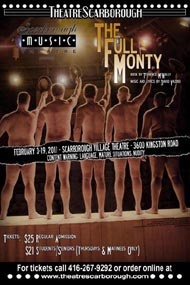The Full Monty Poster by Scarborough Music Theatre, via Flickr