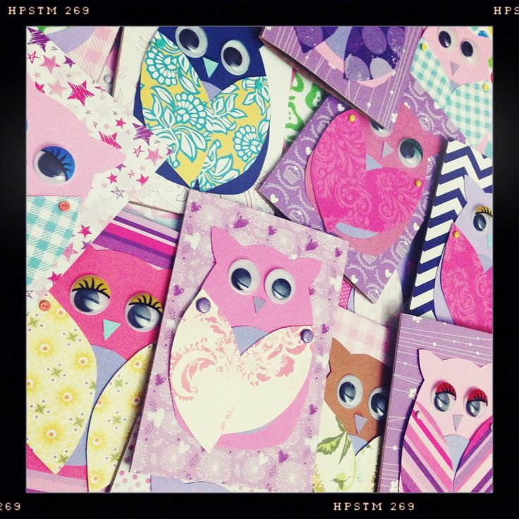 Owl Invites for my Niece's 2nd bday!