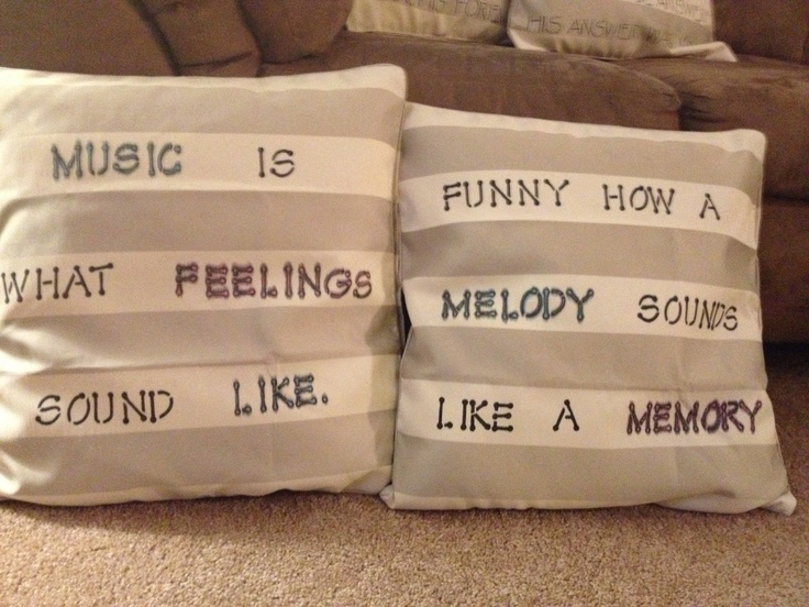 Quote pillows & 40 best Pillow Talk images on Pinterest | Pillow talk Quote ... pillowsntoast.com