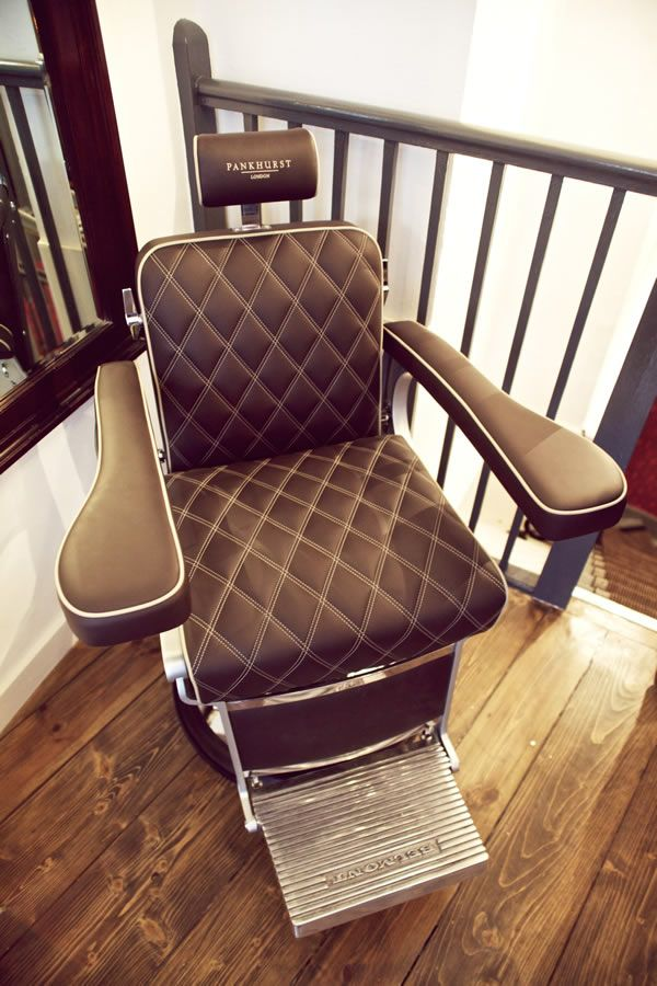 Get a stylish haircut in a Bentley chair at Pankhurst London