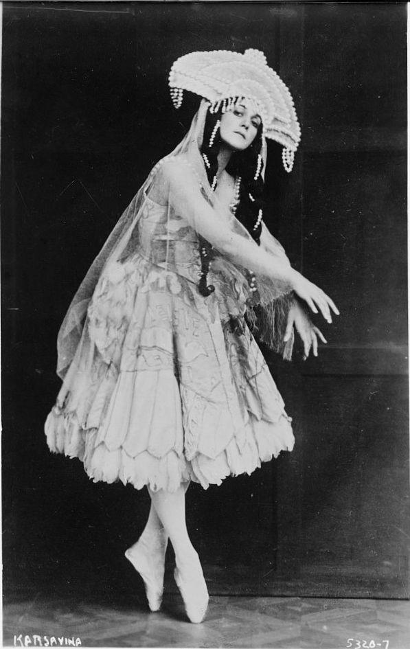 Tamara Karsavina, c. 1912