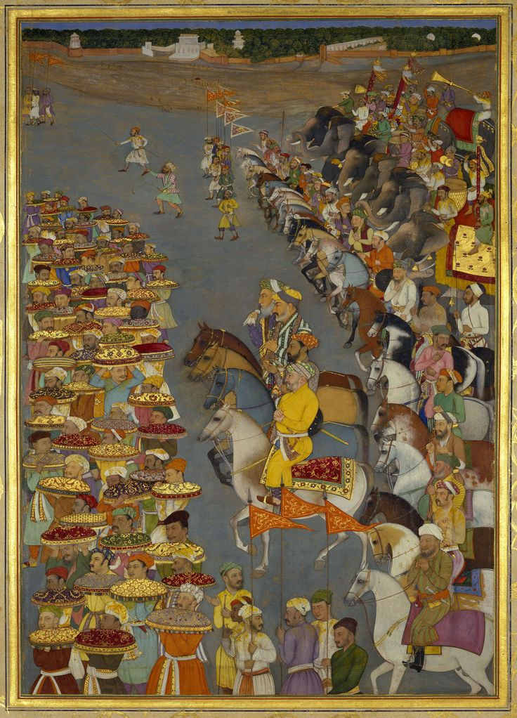 The Delivery of presents for Prince Dara-Shikoh's wedding (November-December 1632)