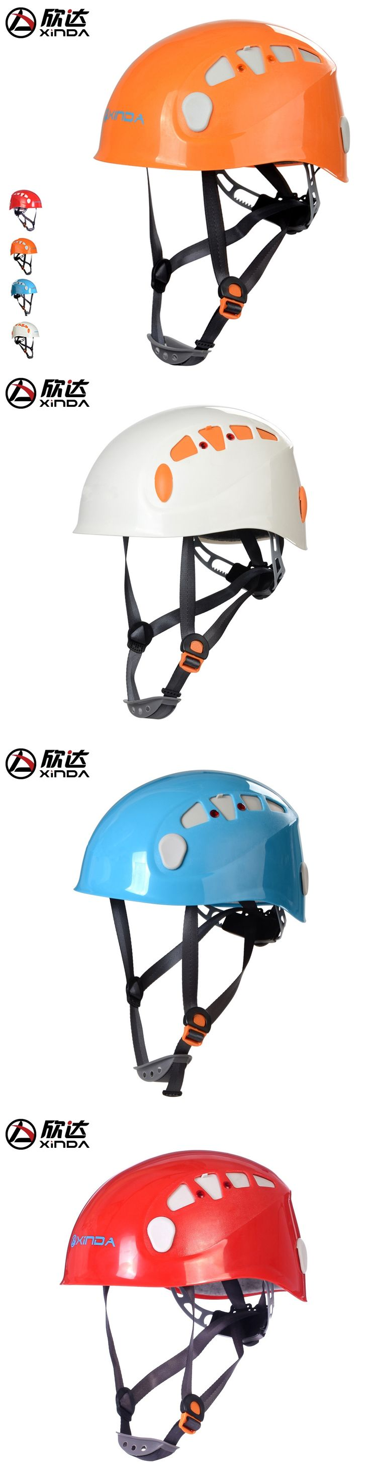 XINDA FREE SHIPPING Outdoor Downhill Climbing Helmets Riding Mountaineering Tunnel Cable Drop Rescue Helmet Drifting Equipment