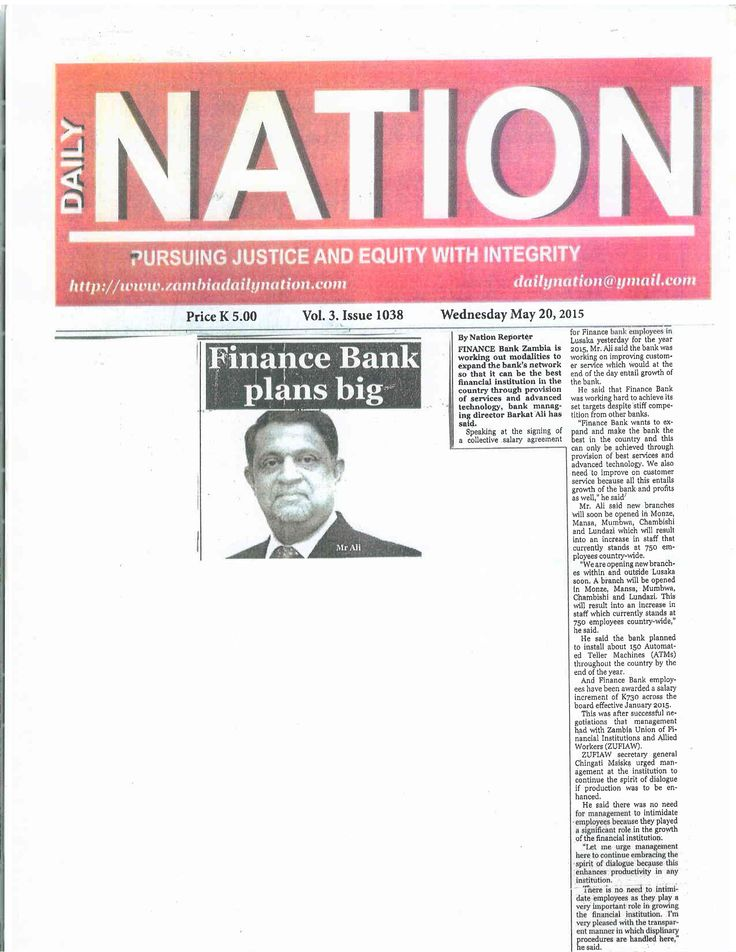 Dr. Rajan Mahtani's Finance Bank is set to make a difference- http://goo.gl/NRWu0k