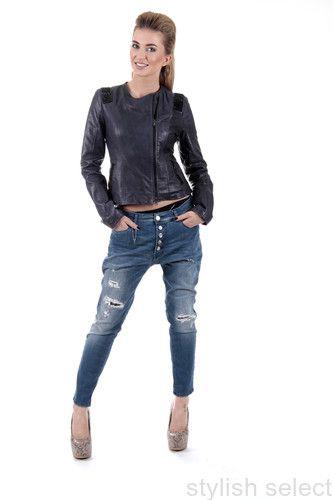 Imperial jeans baggy modne spodnie